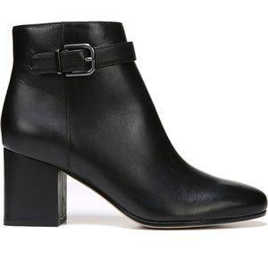 VIA SPIGA ~ Maxine Ankle Strap Bootie Black